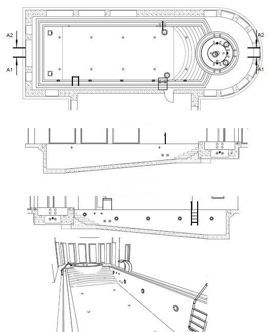 Проект водоподготовки бассейна и гидромассажной ванны